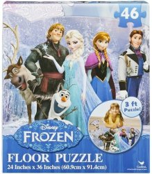 FROZEN Floor Puzzle