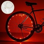 DIMY Toys For 6-10 Year Old Boys Bicycle Accessories Bike Wheel Light 6-14 Year Old Boy Toys 5-14 Year Old Boys Girls Gifts Red