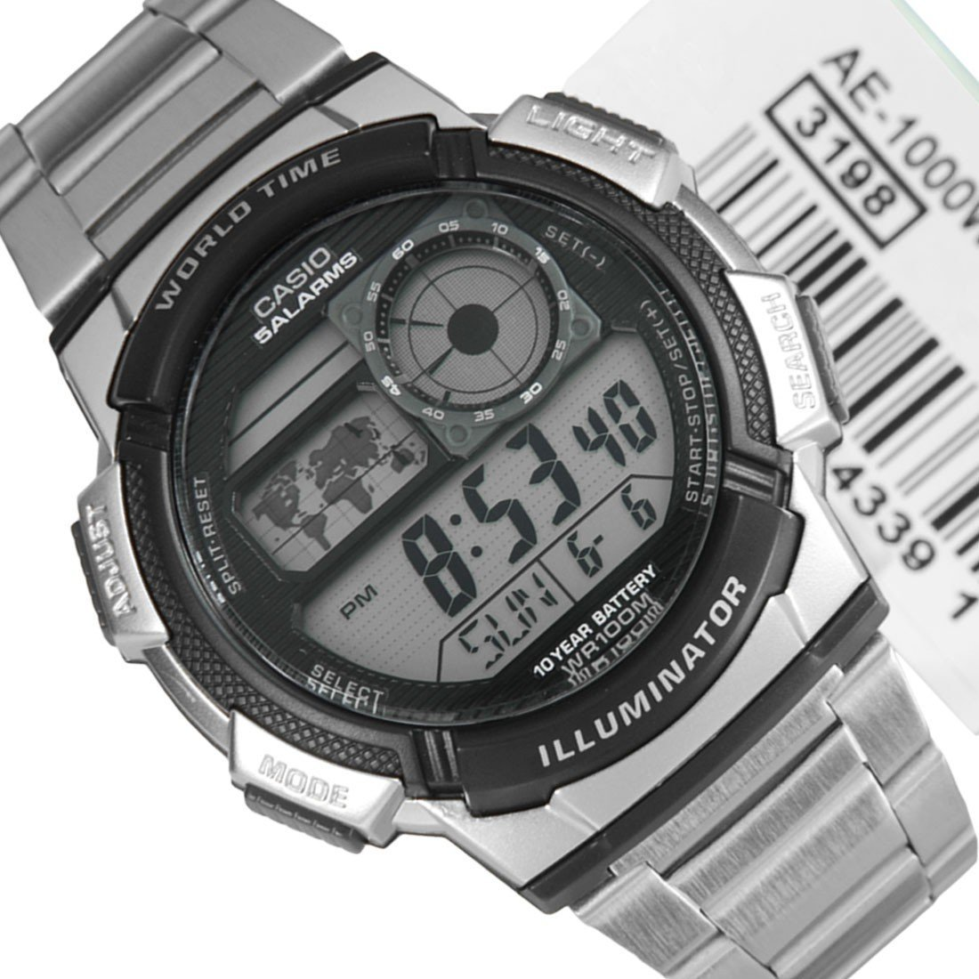 Casio World Time Digital Watch R59300 Watches Pricecheck Sa Ae 1000w 1a Original X