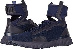 241f70df962 Puma Women s Fenty X Trainer Mid Geo Sneakers Evening Blue Black 10 B M Us