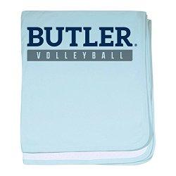 CafePress Butler Bulldogs Volleyball - Baby Blanket Super Soft Newborn Swaddle