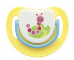 Pigeon Silicone Pacifier Step 2 Caterpillar