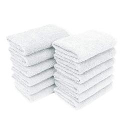 "ADI 15"" X 25"" Magna Plus Peach Bleach Safe Salon Towels - 12 Pack"