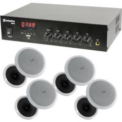 26149e3ac83529 Adastra DM25 Mixer-amp USB Bluetooth + 4 CL6 Ceiling Speakers ...