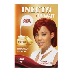Inecto Hair Colour Kit Royal Red