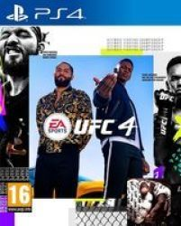 Electronic Arts Ea Sports: Ufc 4 Playstation 4