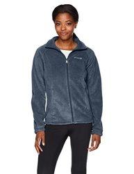 Columbia Women's Activewear Columbia Women's Benton Springs Full Zip Fleece Jacket Night Shadow S