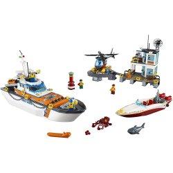 LEGO CITY Coast Guard Head Quarters - 60167