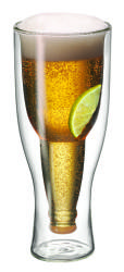 Avanti - Top Up Twin Wall Beer Glass 400ml