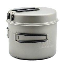 Titanium Toaks 1600ml Pot With Pan
