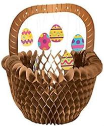 USA Easter Delights Chocolate Easter Egg Basket Honeycomb Centerpiece