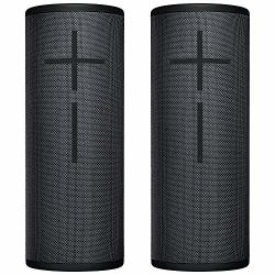 Ultimate Ears UE 2-PACK Megaboom 3 Bluetooth Wireless Speaker - Waterproof Big Portable Stereo Audio System With Extra Bass - Ec