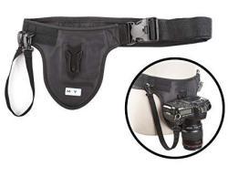 Movo Photo MB600 Universal Camera Belt Holster System For Dslr & Mirrorless Cameras