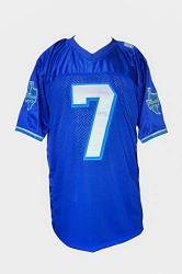 Lance Harbor West Canaan Coyotes Football Jersey Varsity Football Jersey Stitch Sewn 3XL 54 Blue