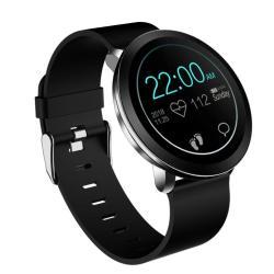 L8 1.3 Inch Tft HD Color Screen Smart Bracelet IP68 Waterproof Support Call Reminder Heart Rate Monitoring blood Pressure Monitoring Sleep Monitoring alarm Reminder Black