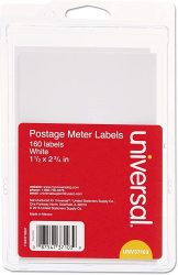 USA UNV37103 - Self-adhesive Postage Meter Labels