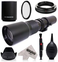 Super 500MM 1000MM F 8 Manual Telephoto Lens For Canon Eos 80D 70D 77D 60D  60DA 1DS Mark III And II 7D 6D 5D 5DS Rebel | R2539 00 | Camera Lenses |