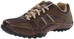 Skechers Usa Men's Citywalk Malton Oxford Brown 10.5 M Us