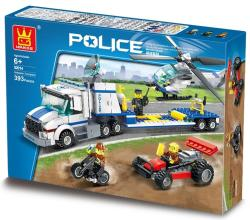 WANGE Police Helicopter Transport Team - 393 Piece | R249 00 | Building  Sets | PriceCheck SA
