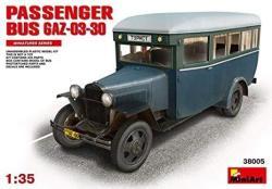 Miniart Models Passenger Bus GAZ-03-30 Model Kit 1:35 Scale