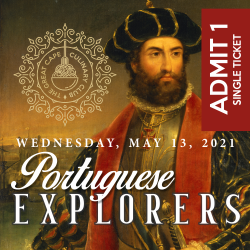 Portuguese Explorers Culinary Club Event Two: 13 May 2021 19H15-22H30