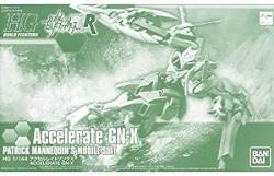 Bandai Hgbf 1 144 Accelerate Gn-x Plastic Kit