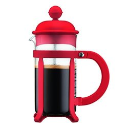 Bodum Java French Press Coffee Maker 12 Oz Red