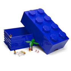 STORAGE Lego Brick 8 - Blue