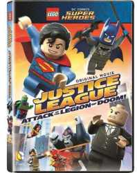 Lego Justice League: Attack Of The Legion Of Doom Dvd