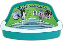 Ware Manufacturing Inc. Ware Manufacturing Plastic Scatterless Lock-n-litter Small Pet Pan- Colors May Vary