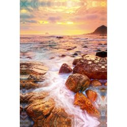 Decor - Coastal Sunset - 60 90
