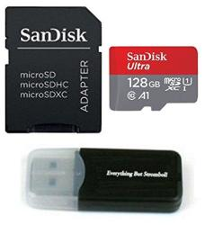 Samsung Galaxy S9 Memory Card Sandisk 128GB Ultra Micro Sd Sdxc Uhs-i Class 10 For S9+ S9 Plus SDSQUAR-128G-GN6MA With Everything But Stromboli Tm