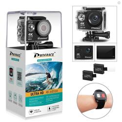DROGRACE WP350 Sports Dv Camera Wifi Video Action Camera Waterproof 4K  60FPS 30FPS 1080P Full HD For Youtube Underwater Remote D | R1505 00 |  FM/AM