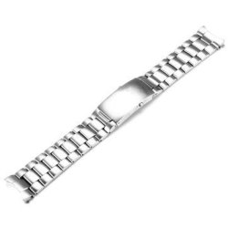 Omega 22MM Watch Band Polished Stainess Steel For Seamaster
