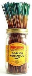 Wildberry Carmen Miranda's Hat - 100 Incense Sticks