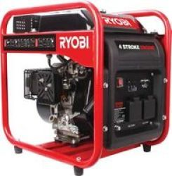 Ryobi RG-1280I 1200W Open Frame Inverter Generator