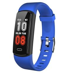 Y29 0.96 Inch Tft Color Screen Smart Watch IP68 Waterproof Support Call Reminder heart Rate Monitoring blood Pressure Monitoring sleep Monitoring sedentary Reminder Blue