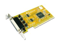 Sunix 2-PORT RS-232 High Speed Universal PCI Low Profile Serial Board With Power Output