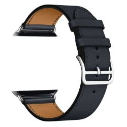 Zonabel 40MM Strap For Apple Watch - Black Leather