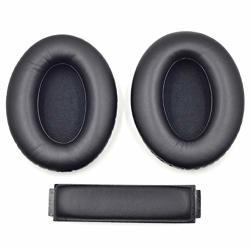 Set 1 Earpads Headband Replacement Protein Earpads Cushions For Sennheiser HD418 HD419 HD428 HD429 HD439 HD438 HD448 HD449 Headp