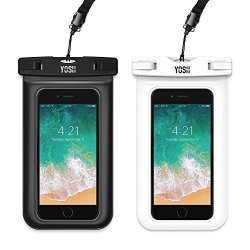 wholesale dealer c4a42 2c14f YOSH Waterproof Phone Pouch Universal Waterproof Phone Case Cell Phone Dry  Bag Pouch Compatible Iphone X 8 7 6 6S Plus 5S 5C Gal | R565.00 | ...