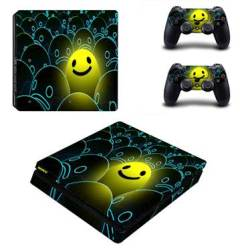 Skin-nit Decal Skin For PS4 Slim: Happy Face