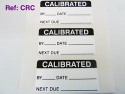 Minilabel Pack Of 50 Calibrated Labels Tamper Evident Labels 40X20MM Rectangle Black On White Stickers Break Up On Attempted Removal