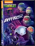 Teenage Mutant Ninja Turtles - Intergalactic Attack Dvd
