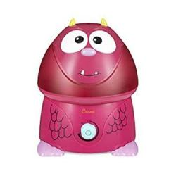 Crane USA Filter-free Cool Mist Humidifiers For Kids Pink Monster