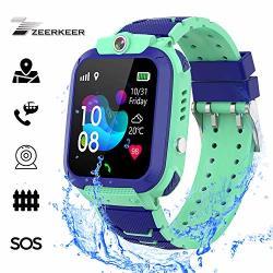 Kids Smart Watch -zeerkeer Gps Tracker Watch Pedometer With Sos Call Anti-lost Alarm Remote Monitor Gps lbs Locator Smart Bracelet Best Gift For Girls Boys