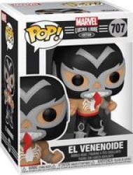 Pop Marvel Lucha Libre Edition: El Venenoide Figure