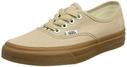 Vans Authentic Fashion Sneakers Sesame gum Sesame Size 12 MEN 13.5 Women 064563921