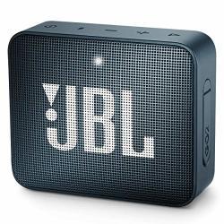 JBL GO2 - Waterproof Ultra Portable Bluetooth Speaker - Navy