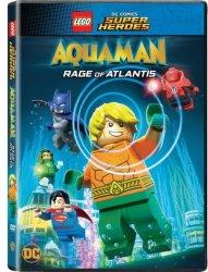 Lego Dc Superheroes: Aquaman - Rage Of Atlantis DVD